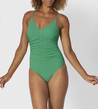 Kostium kąpielowy jednoczęściowy Triumph zielony