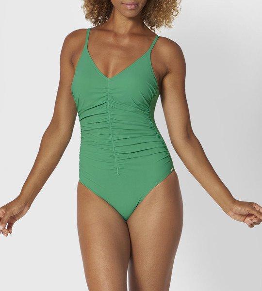 Jednoczęściowy kostium kąpielowy Triumph - zielony
