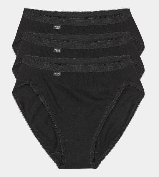 Czarne majtki damskie sloggi