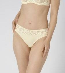 Majtki Damskie Triumph Illustrated Rose Brazilian String kolor Wanilowy