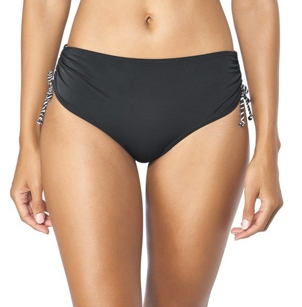 0409470e25ab0c Czarny Majtki od stroju kąpielowego Triumph Mix & Match 19 Midi 02 ...